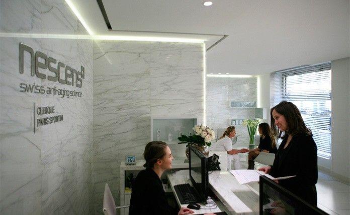 Le cabinet du Dr Marchac est situé au sein de la clinique Nescens Spontini